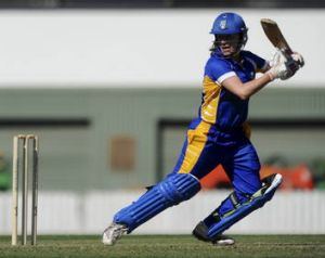 Kate Owen made 17 not out off 15 balls in the Meteors' win.