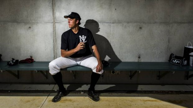 New Zealand's John Holdzkomwill against both for and against the Canberra Cavalry this year.