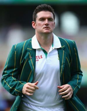 Graeme Smith ... won the toss.