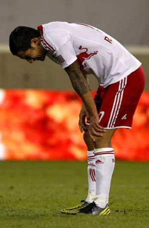 Tim Cahill during the game against DC United.