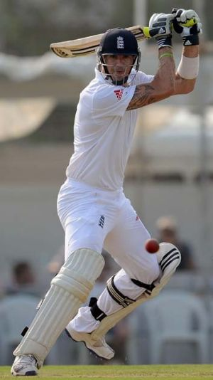Kevin Pietersen: Back in England's team and back in form.