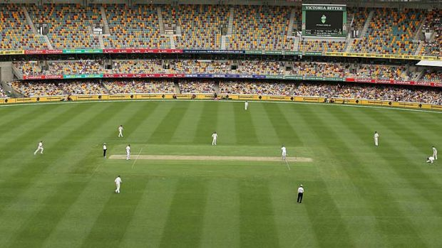 The Gabba pitch turned out to have few gremlins.