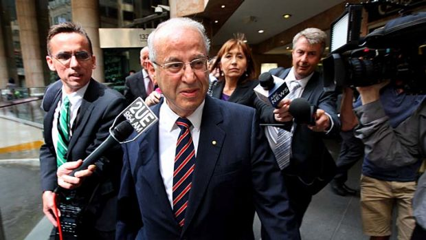 "Eddie Obeid ... alleged to have used a series of ""front"" companies."