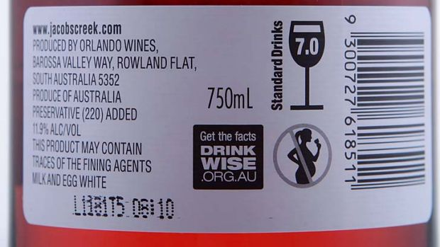 Limited impact ... alcohol warning labels.