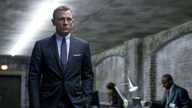 Missed out  ... Daniel Craig and <i>Skyfall</i>.