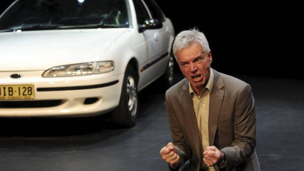 Colin Friels in <i>Death of a Salesman.</I>