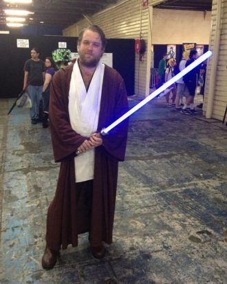 Michael gets on his Obi Wan Kenobi.