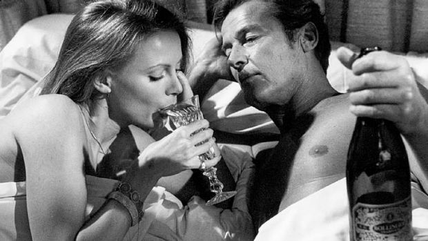 More for the tough guys … there's a strong relationship between James Bond and Bollinger.