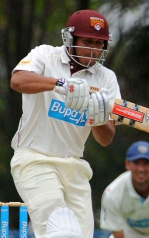 In-form … Khawaja closes in on a century.
