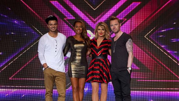 X-Factor was a ratings winner for Channel 7 in 2012.