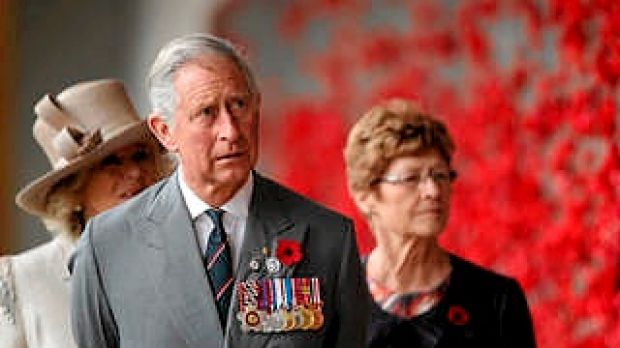 Prince Charles, Prince of Wales and Camilla, Duchess of Cornwall visit the Australian War Memorial.