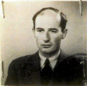 Raoul Wallenberg, a Swedish diplomat who was responsible for the saving of a large number of Jews during the Holocaust.