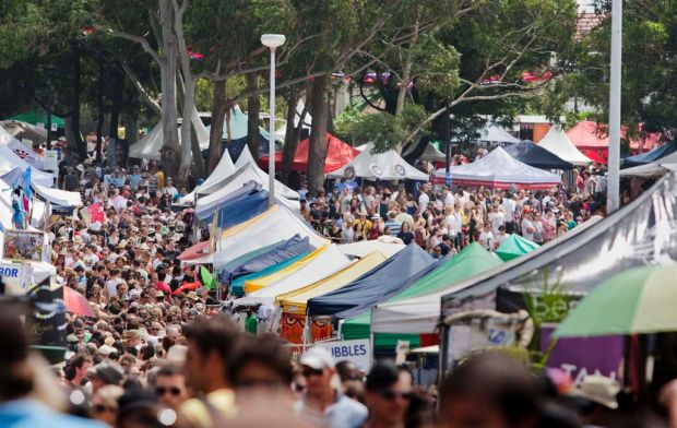 Thousands revel in the Newtown Festival.   newtown.jpg