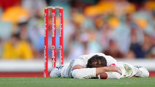 Lyon around ... Nathan Lyon sums it up for the hosts.