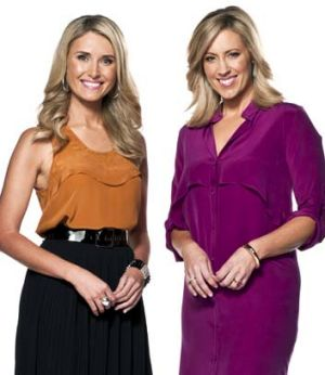 Ten Breakfast's Kathryn Robinson and Magdalena Roze.
