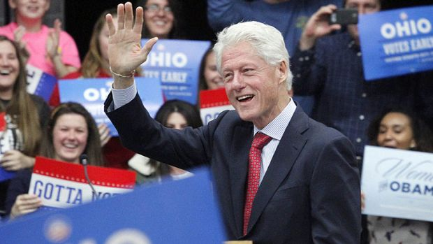 The political career of former US president Bill Clinton is re-examined in <i>Clinton</i>.