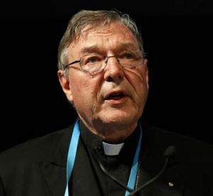No choice ... George Pell.