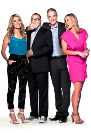 Matter of time ... the cast of <i>Breakfast</i>, Magdalena Roze (left), Paul Henry, Andrew Rochford and Kathryn Robinson.