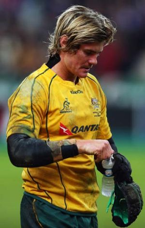 """We've just got to go back to the drawing board and lick our wounds"" ... Berrick Barnes, pictured."