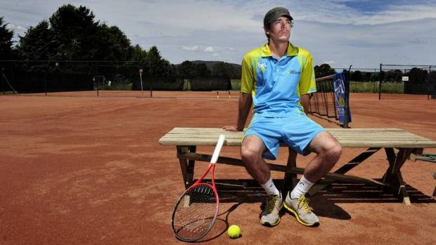 Former professional tennis player Alun Jones will join local juniors in the Canberra Velocity team.