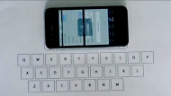 Invisible keyboard for Apple iPhone (Video Thumbnail)