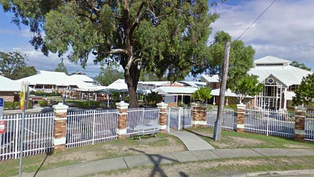 Students from St Hilda's School held a party at an outlaw bikie gang's headquarters.