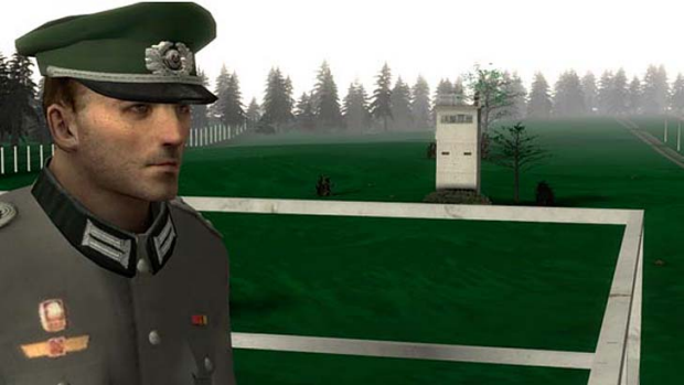The game 1378 caused controversy because players who chose to be Cold War guards could shoot East German refugees.
