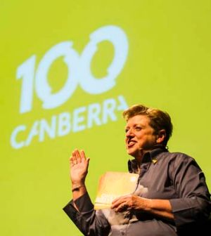 Centenary of Canberra creative director Robyn Archer.