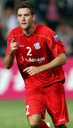 Called into action: Robert Cornthwaite will play for the Socceroos in South Korea.