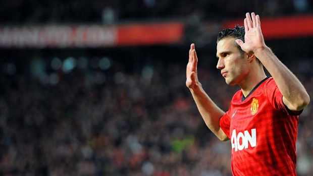 The next step ... Robin van Persie and co would be a huge hit in Australia.