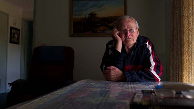 Ray Prosser, 85, was abused as a boy.
