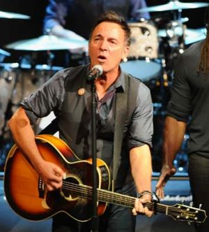 Born to tour ...  Bruce Springsteen.