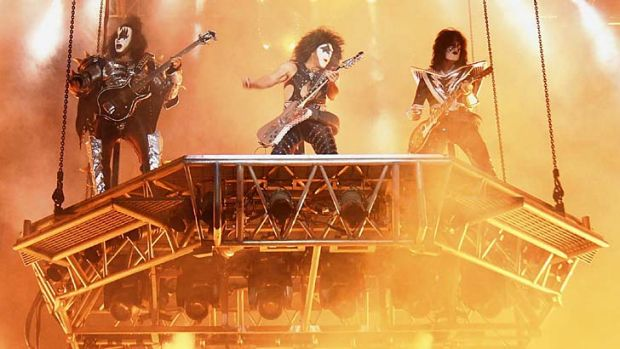 In demand ... Kiss on the tour circuit next year?