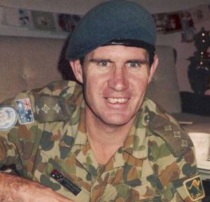 Captain Peter McCarthy, who died on January 12, 1988 while serving as a peacekeeper in Lebanon.
