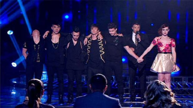 The Collective and Bella await the final decision ... X Factor 2012