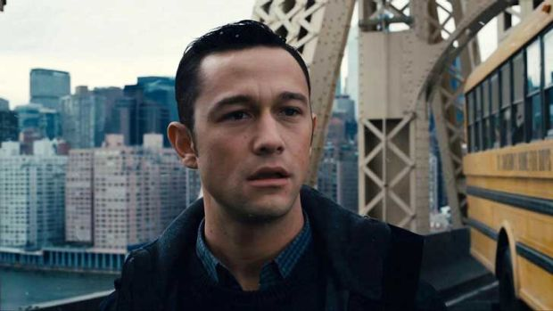 Questioning authority ... Joseph Gordon-Levitt in <i>The Dark Knight Rises</i>