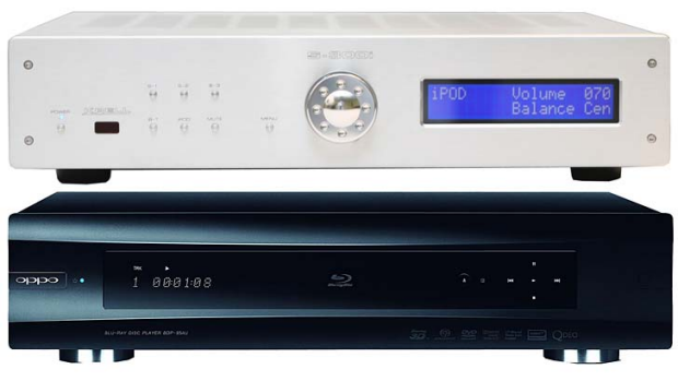 The Oppo BDP 95AU (below) and high-end US-brand Krell?s S-300i integrated amplifier. Both are made in China, which can ...