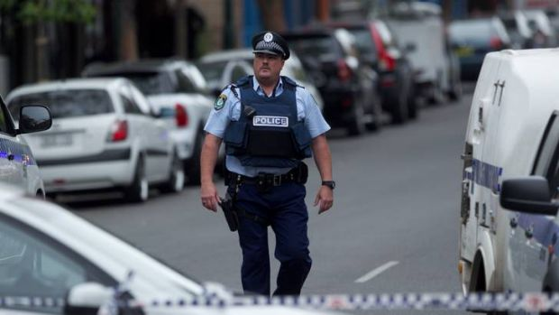 'False report' ... police investigate incident at Ultimo.