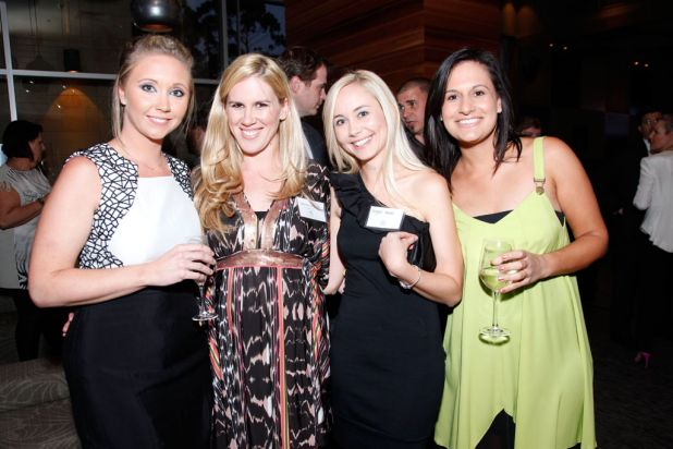 Jody O'Dea, Nadine Simpson, Angela Wilson Howes and Lauren Dean