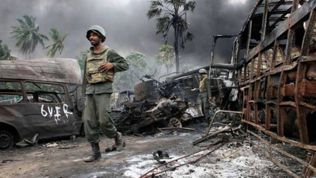 "A ""grave failure"" ... a leaked report says the UN failed in its mandate to protect Sri Lanka's non-combatants."