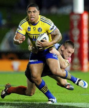 Trimmed down: Willie Tonga.