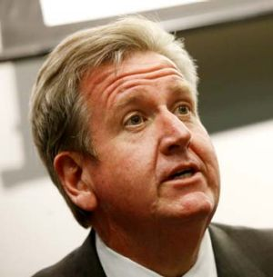 Taking over control of transport planning in the city ... Barry O'Farrell.