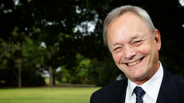 World first ... the 2012 NSW Scientist of the Year, John Aitken, who has patented a male contraceptive.