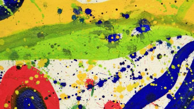 The real deal … Sam Francis's <i>Untitled from the Pasadena Box</i> (1964).