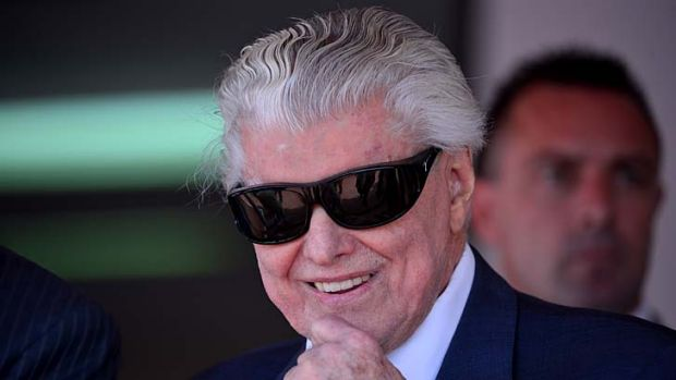 Without peer … Cups King Bart Cummings during the Flemington carnival this year. He turned 85 on Wednesday and has ...