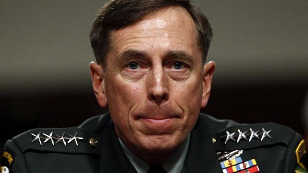 Secret affair with biographer ... David Petraeus.