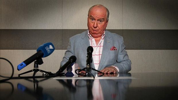 More than 60 companies pulled their ads after Alan Jones' comments.