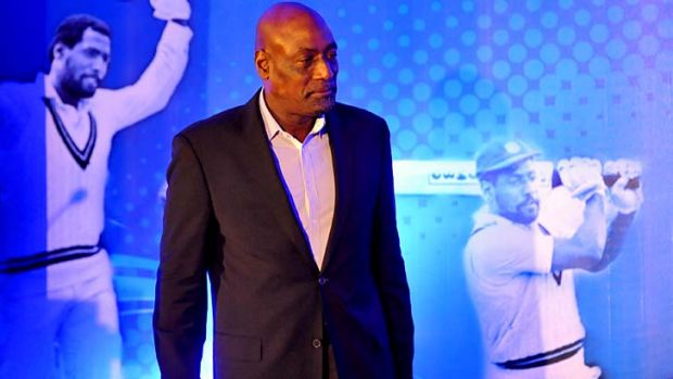 Class act: Viv Richards will work with the Melbourne Stars.
