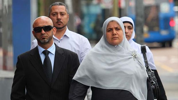 ''Puzzling'' ... the parents of Rahma El-Dennaoui, Hosayn and Alyaa El-Dennaoui, arrive at Glebe Coroners Court on Thursday.