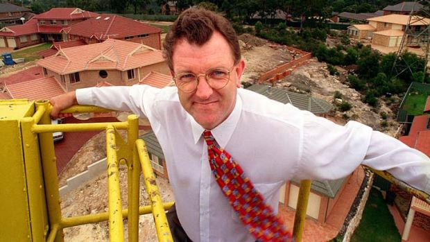 Chris Downy ... the favourite to become president of the NSW Liberal Party.